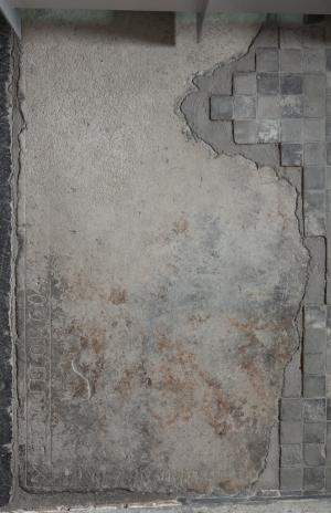 Floor slab of unknown person(s)