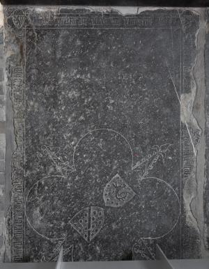 Floor slab of Willem van Eynenberch and Gertrui van Fraypont
