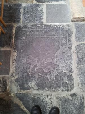 Floor slab of Boudin, son of Pieter [...]