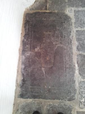 Floor slab of Adriaen Bo[...]n