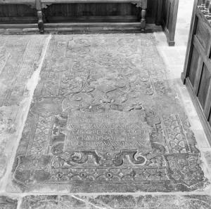 Floor slab of Willem van Bockhorst and Mechteld van Wijngaerden