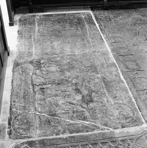 Floor slab of Johan and Alijdt van Buckhorst