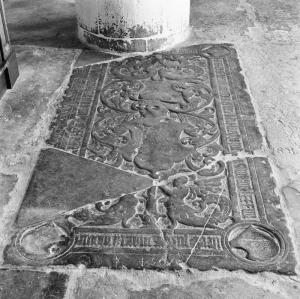 Floor slab of Jacob van Ittersum, Maria Momme and Johan van Ittersum