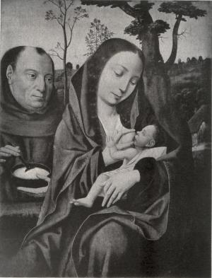 Holy Family with the portrait of a man as Joseph (?)