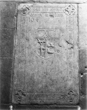 Floor slab of Huberecht Nutsaert Pietersz. and Mayken Aertsens Lauweriesdr.