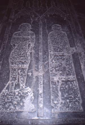 Floor slab of a married couple