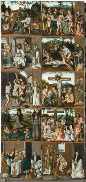 Scenes from the Passion of Christ (interior left wing)