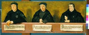 Commanders of the Haarlem Convent of St John; panel 6