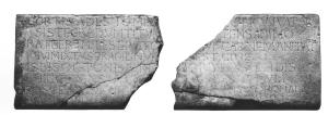 Sarcophagus lid of Ratger (fragment(s))