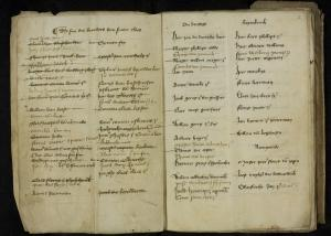 Register of the confraternity of St Nicholas (ff. 1v-2r: list of members)