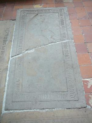 Floor slab of Theodricus Hardenberch
