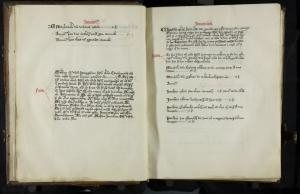 Memorial register of the St Pancras's Church in Leiden (ff. 8v-9r)