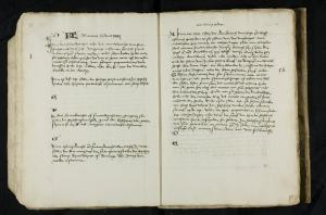 Register of memorial services of the Hospital of St Catherine, Leiden, pp. 25-26 (March)