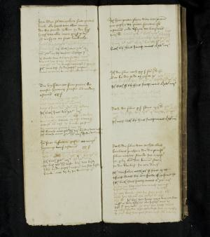 Register of rents of the Hospital of St Catherine, ff. 3v-4r: 1500-1508