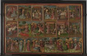 Scenes from the Life of Christ with devotional portrait of Bela van Mirlaer van Millendonck ('The Roermond Passion')