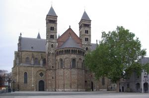Maastricht, St Servatius's Church (east facade)