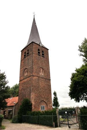 Baardwijk, tower of the medieval church