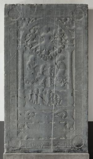 Floor slab of [...] Kaelsack(?) and an unknown person