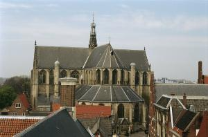 Alkmaar, St Lawrence's Church, seen from the city hall