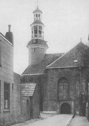 Oostburg, St Eligius's Church (situation before 1944)