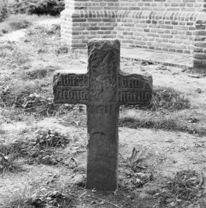 Memorial cross of Albert van Redickhaven