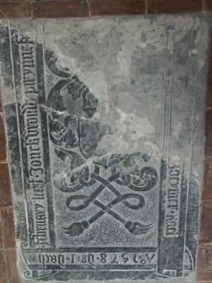 Floor slab of Frederik van Boeymer and Peterken Frans Anthonisdr.