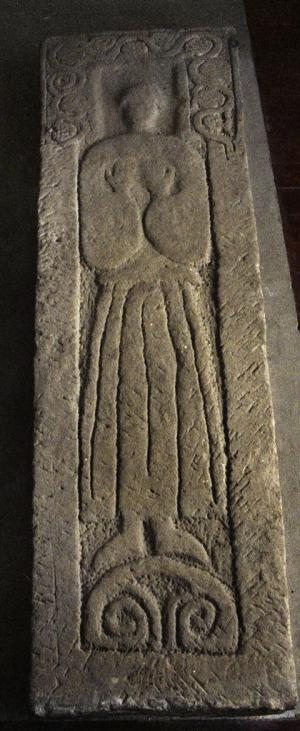 Sarcophagus lid of an unknown person
