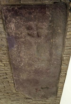 Sarcophagus lid of unknown person(s)
