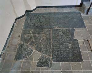 Floor slab of Jacop van Gheel (fragment(s))