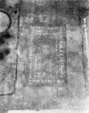 Floor slab of Henderick Jansen, his wife Maghrite and Jochum Heindericxsen