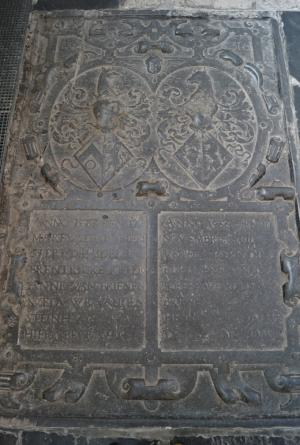 Floor slab of Johanna and Wendela van Brienen