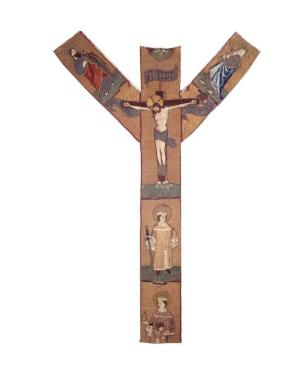 Chasuble cross commemorating Johan Stuerman