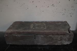 Sarcophagus of unknown person(s); floor slab of unknown person(s)