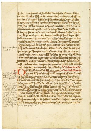 Chronicle (biographies) of the Fraterhuis in Zwolle (ms. 70 H 69)