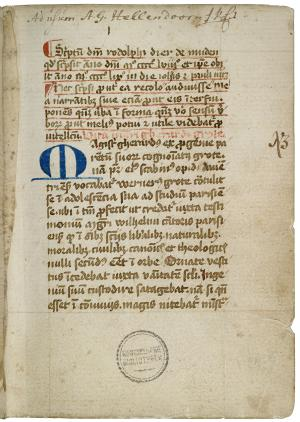 Chronicle of the Heer Florenshuis, some biographies and other texts (ms. 128 G 16)