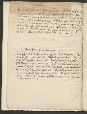 Register of anniversaries of the monastery in Heiloo (NHA, 176, no 1329)