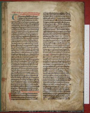Chronicle of Berne (ms. I B 1)