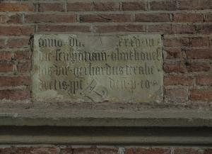 Memorial tablet of Gerhard van Texell