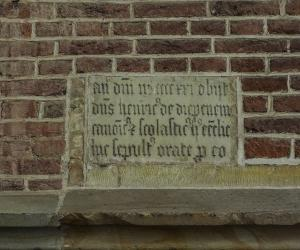 Memorial tablet of Henrick van Diepenem