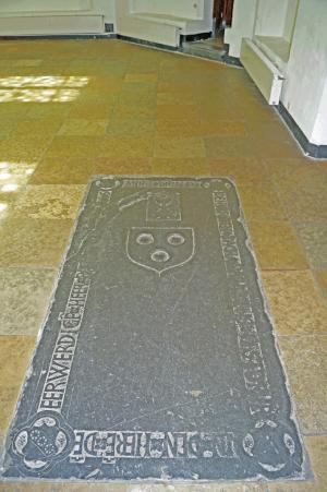 Floor slab of Nicolaas Doys