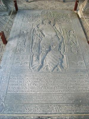 Floor slab of Wytze van Cammingha and family