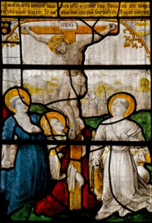 The Crucifixion with SS Jerome, Dominic and Mary Magdalene