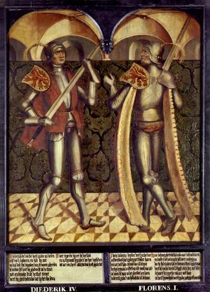 Panel 4: Dirk IV and Floris I