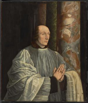 Devotional portrait of Joris van Egmond