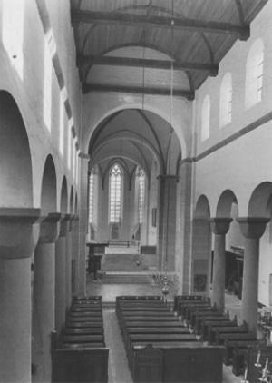 Utrecht, interior of St Peter's Church